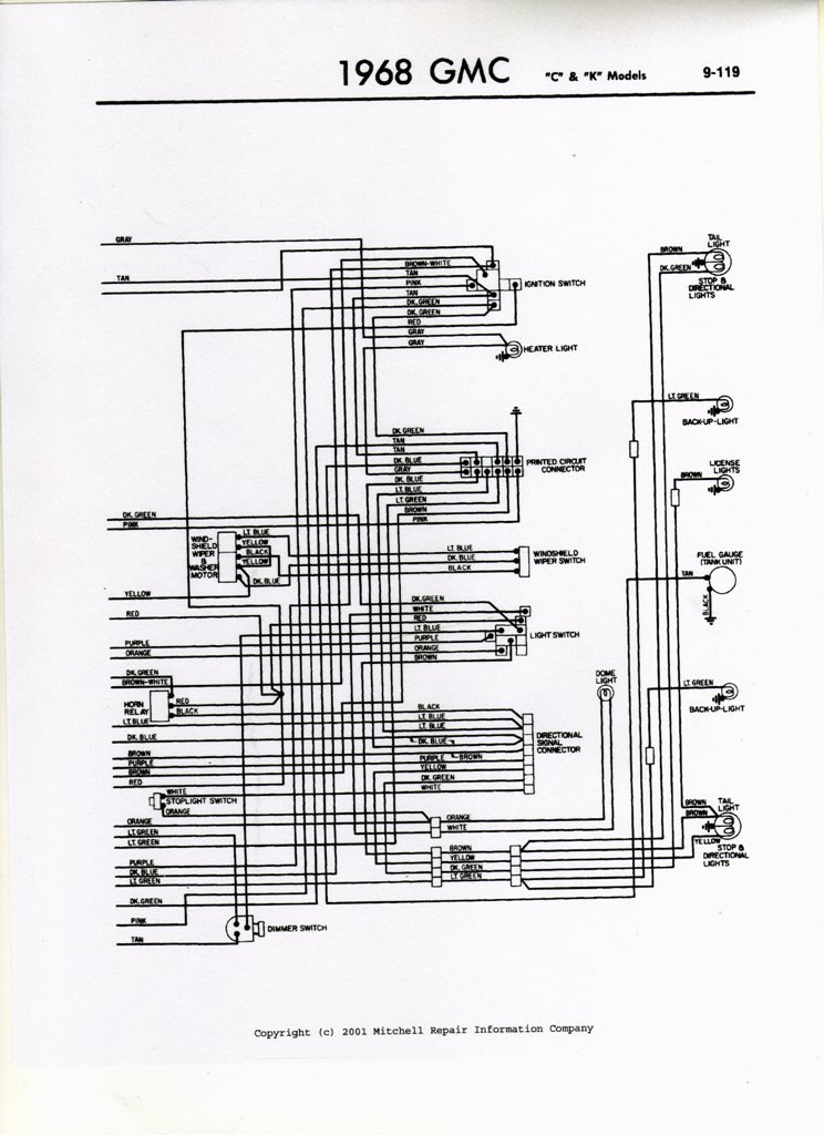 1962 c10 wiring diagram pdf 63 chevy truck turn signal on a 66 gmc 1 2 truck which wires go  63 chevy truck turn signal on a 66 gmc