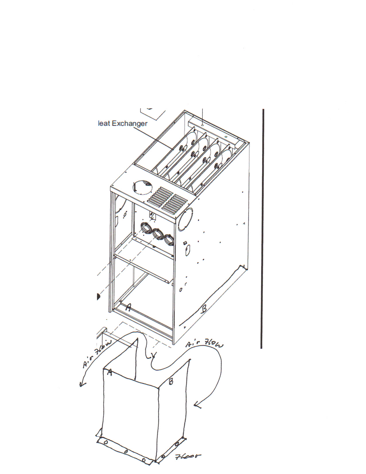 how to draw a furnace