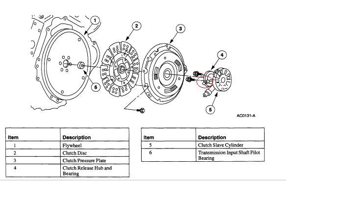 Slave Cylinder on Ford 3 8 Engine Diagram
