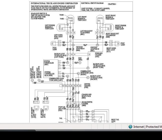 i have a 2003 international 4300 with 24' box - recently ... for international 7400 headlight wiring diagrams international heavy truck wiring diagrams