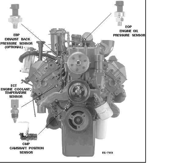 international 4700 t444e engine belt diagram international