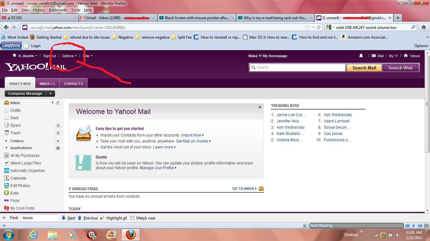Why is my e-mail being sent out: from Yahoo Member Service