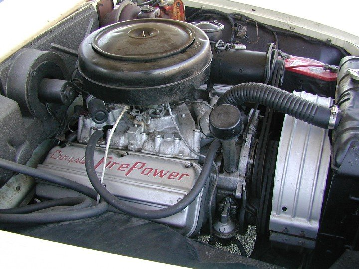 What Is The Firing Order For A 1955 Chrysler 331 Hemi