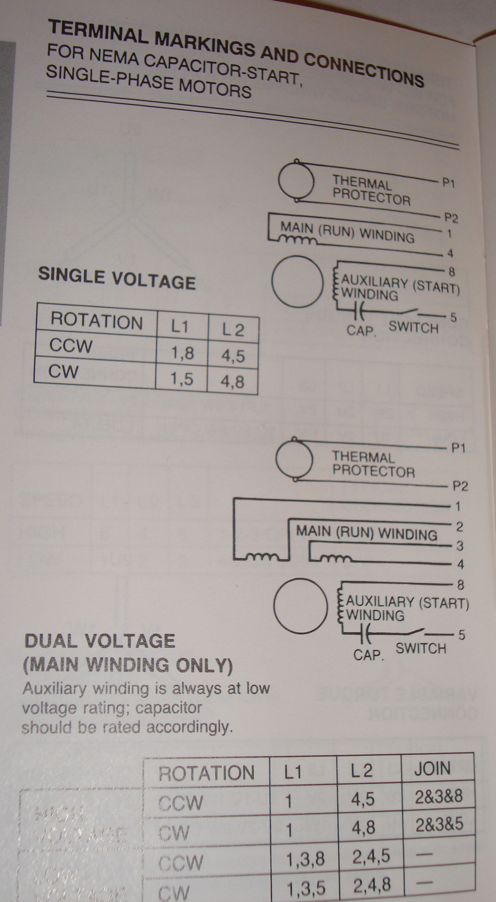I Have A 10 Hp  1ph  230v Farm Duty Motor  I Would Like An Electrical Diagram For How The