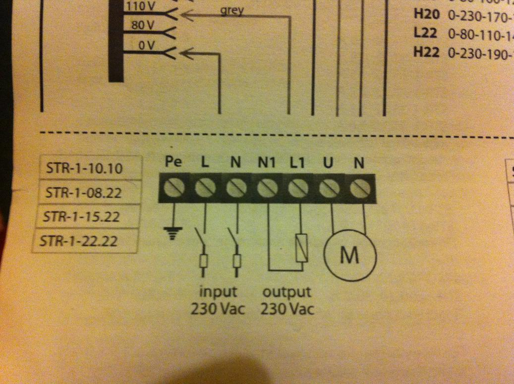 I'm wondering how i wire up my Variac fan sd controller ... on