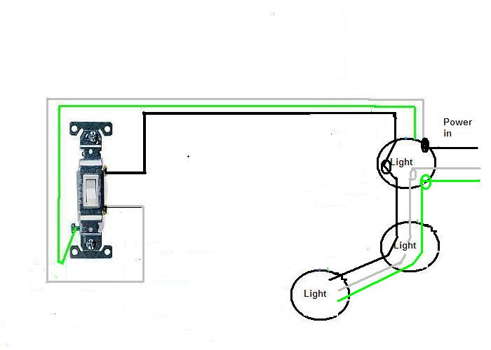 I Am Trying To Wire 4 Cans Lights Off One Switch  The