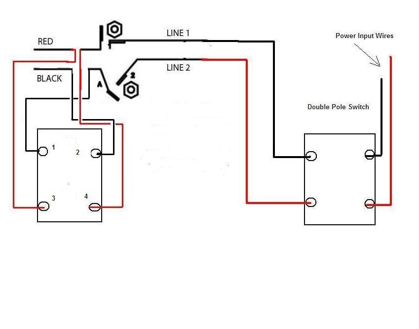 i am wiring a cutler hammer db1 drum switch to a dayton
