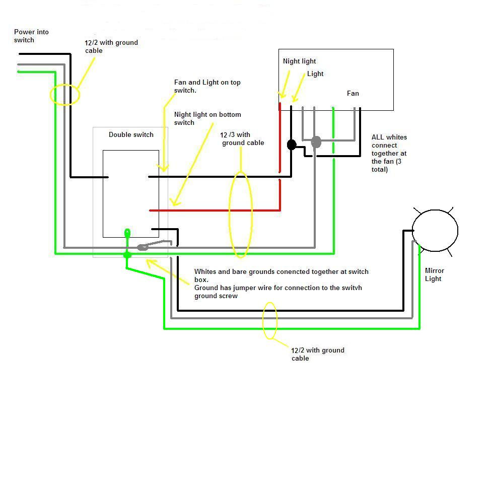 I Have A Broan Qtxe110flt Fan I Need A Simple Diagram On