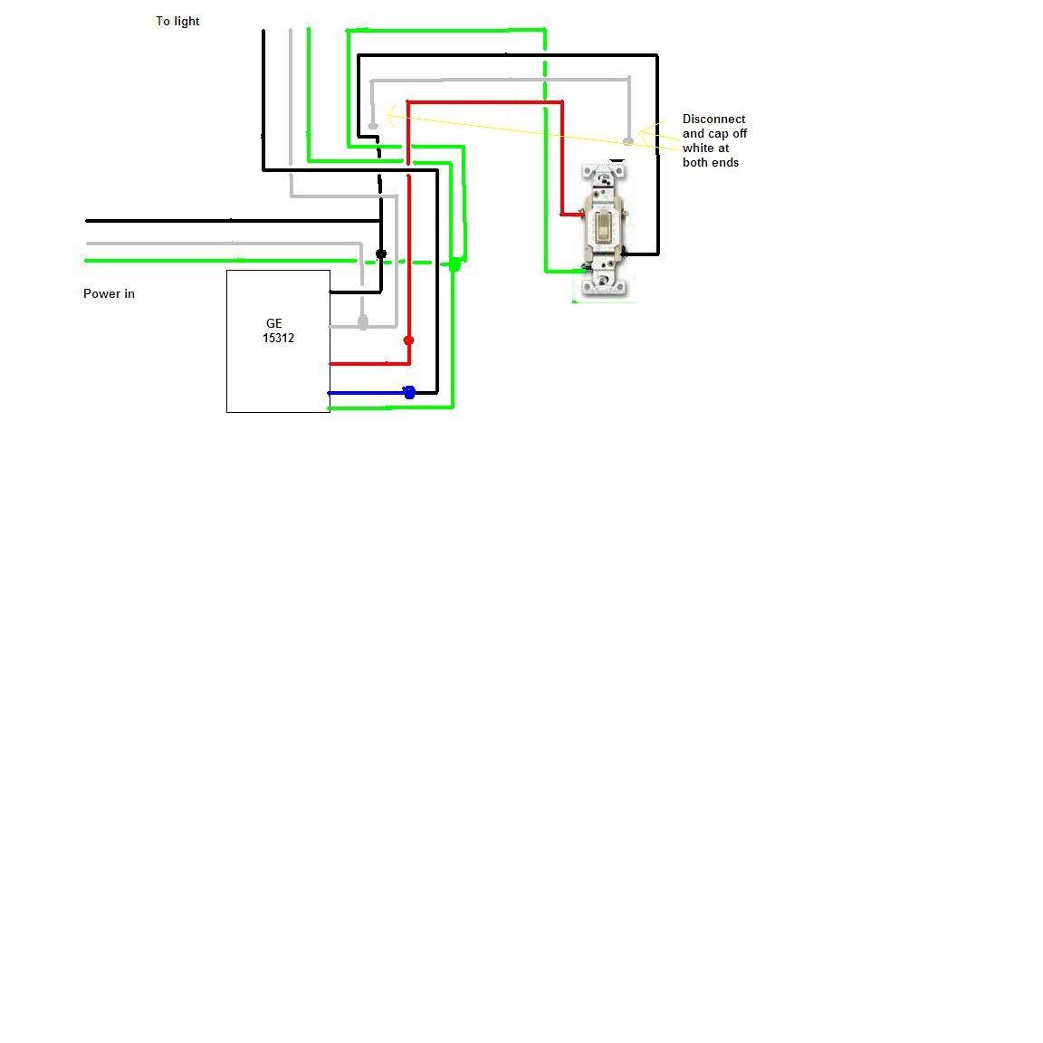 Am Installing Sunsmart Digital Timer 15312  Existing 3
