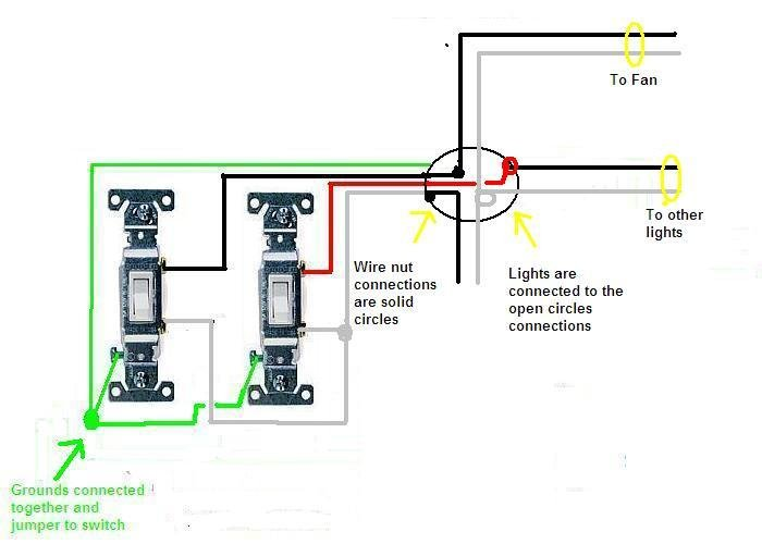 light switch schematic bo wiring 3 way switch schematic bo wiring diagram i have 2 switches both are slide dimmers. 1 is for a fan ...