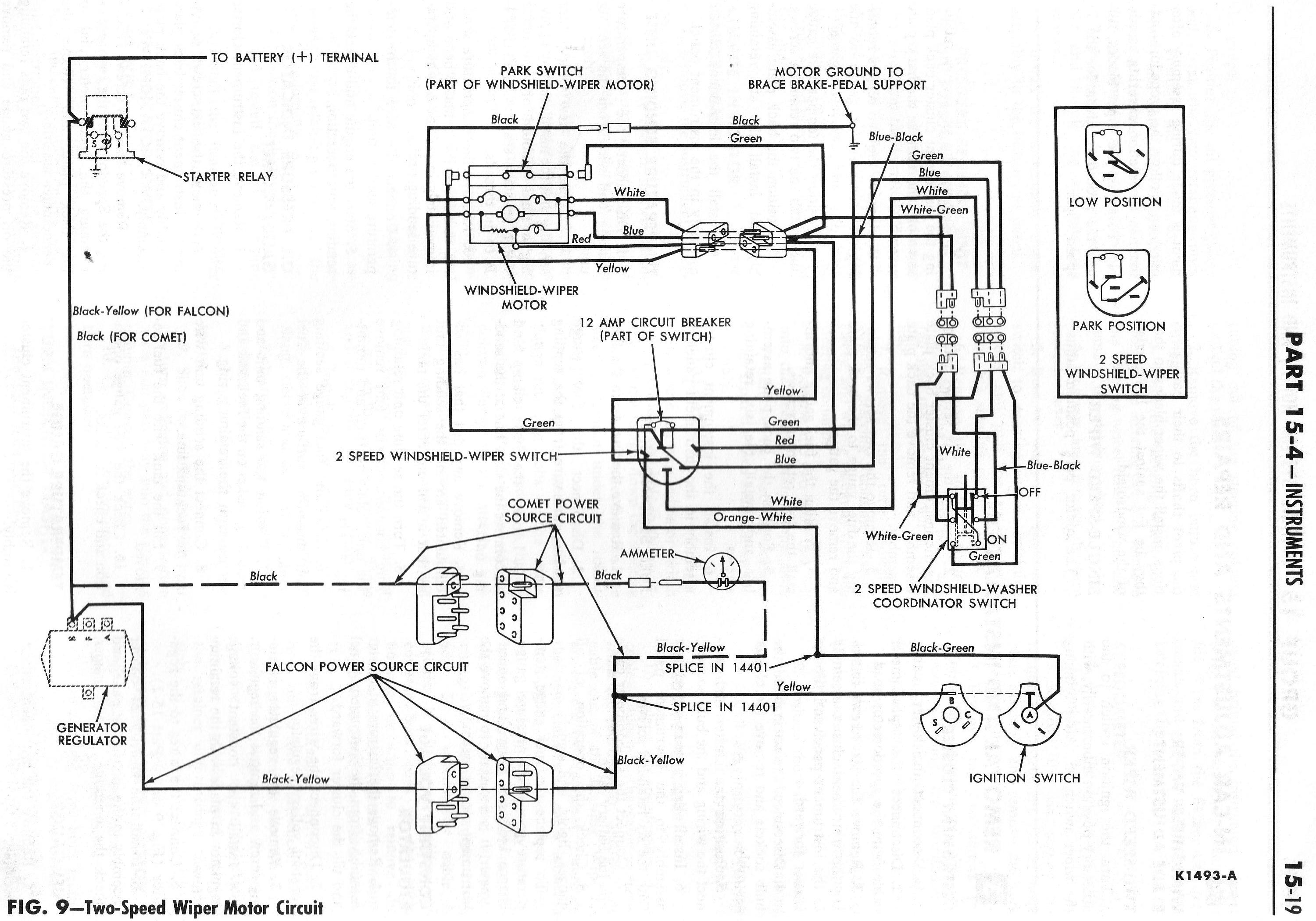 1969 corvette windshield wiper wiring diagram