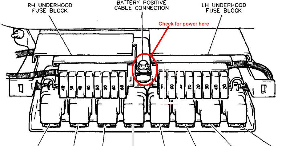 would a bad ecm cause the fuel and power accessories to