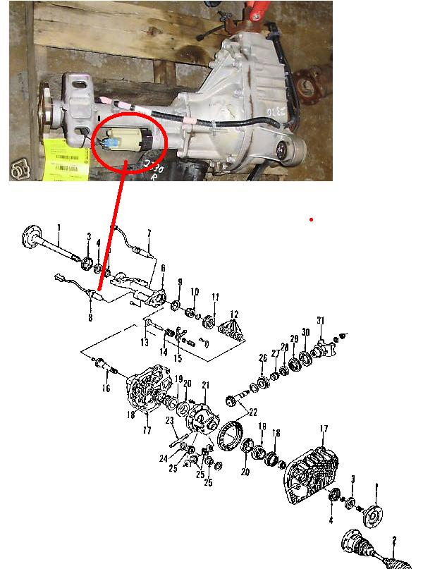 Where On My 1997 Chevy Z71 4x4 57 Liter Automatic Can I Find Rhjustanswer: 1997 Chevy Tahoe 4wd Wiring Diagram At Gmaili.net