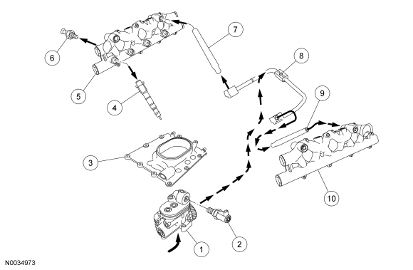Ford 6 0 Injector Diagram