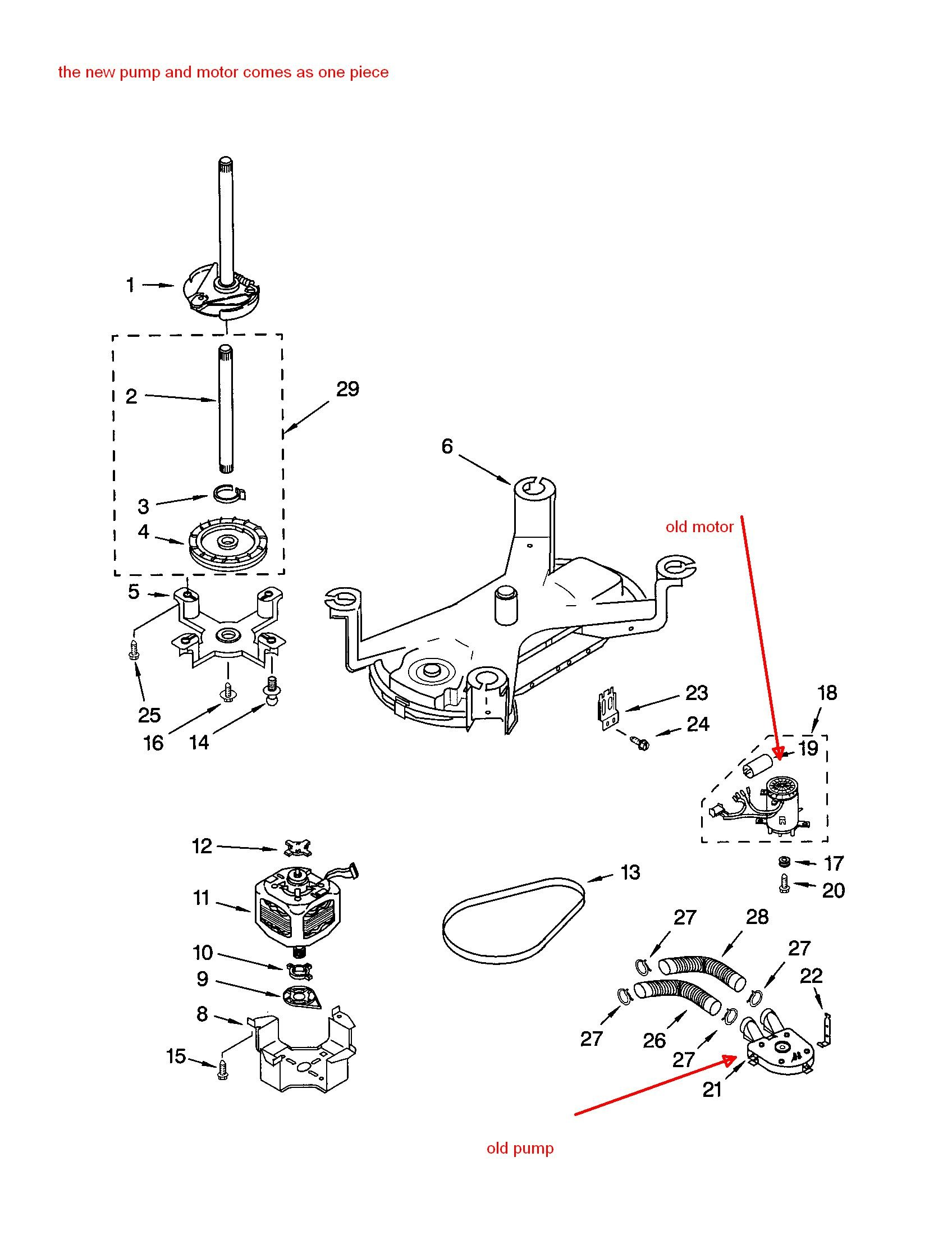 Diagram Further Kenmore Washer Model 110 Parts Diagram Further Kenmore