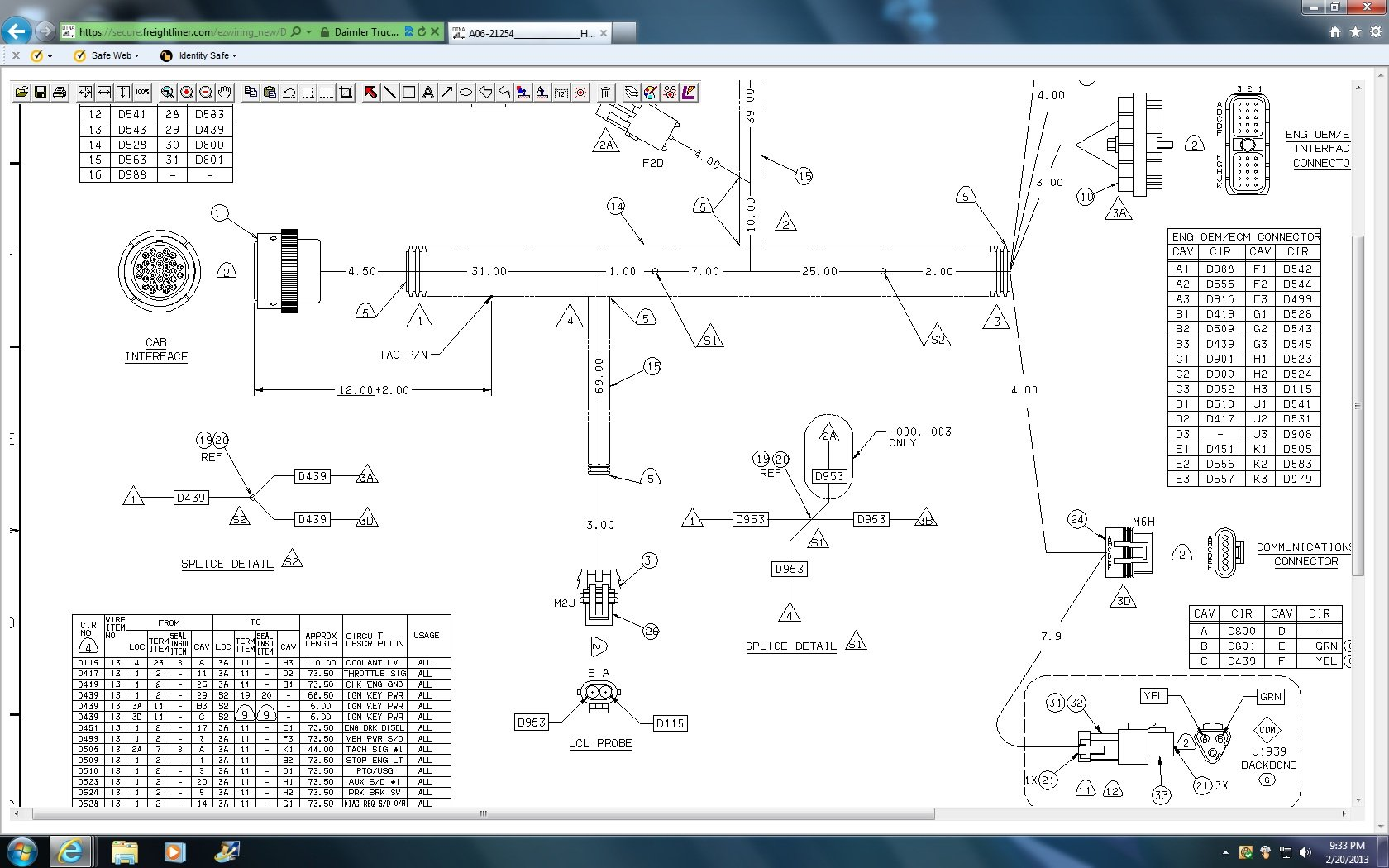 Freightliner Fld120 Starter Wiring Diagram - Wiring Diagrams on