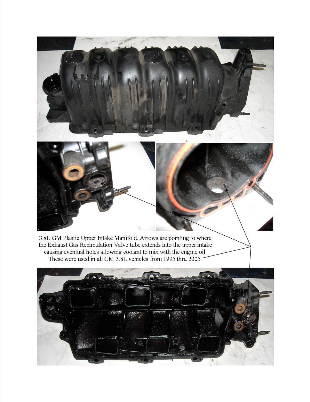L Plastic Upper Intake Manifold