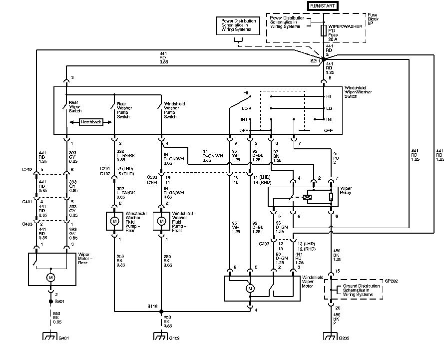 i need a wiring diagram of a 2005 aveo wiper system switch to relay rh justanswer com chevrolet aveo radio wiring diagram chevrolet aveo 2006 wiring diagram