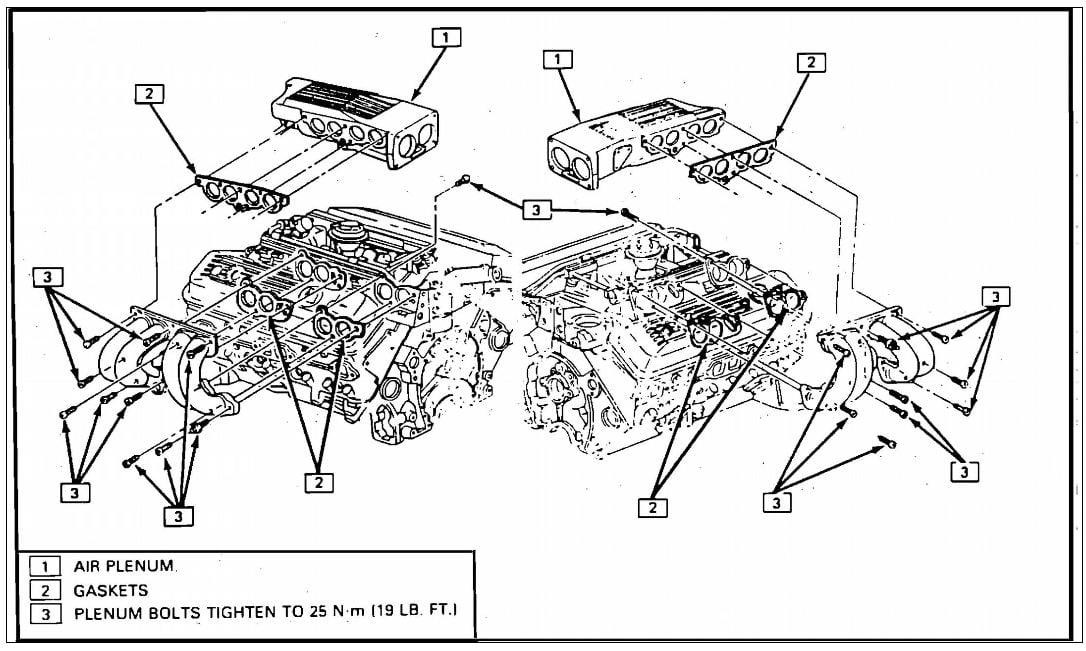 how do you replace an egr valve on a 1988 corvette