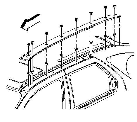 How Do I Install Roof Rack Cross Bars On A Buick