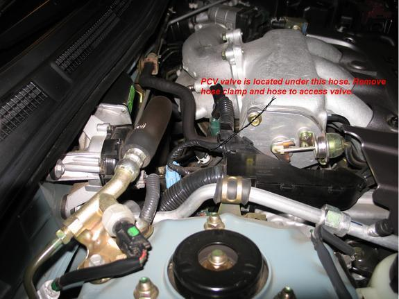 Where Is Pcv Located On 2004 12 Nissan Maximarhjustanswer: 1997 Nissan Maxima Pcv Location At Gmaili.net