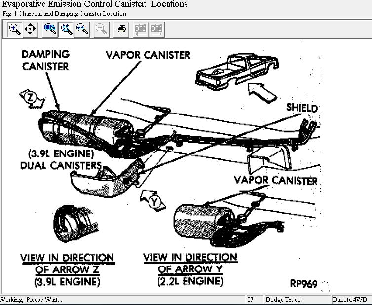 dodge intrepid heater hose diagram