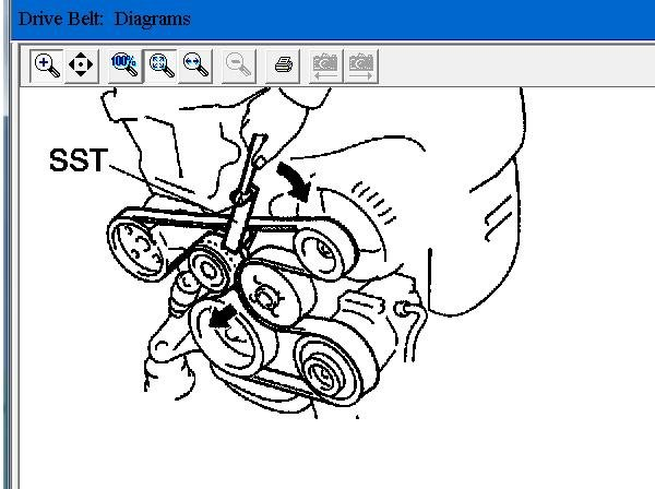 Need Serpentine Belt Diagram For 2006 Toyota Camry 24 Liter Solved