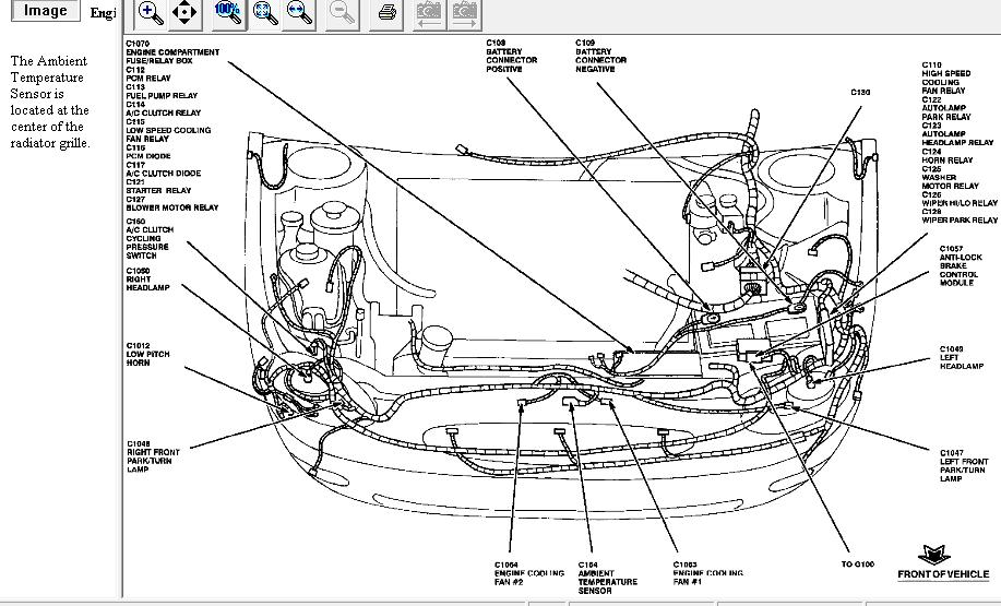 2008 ford taurus ac system diagram  ford  auto parts
