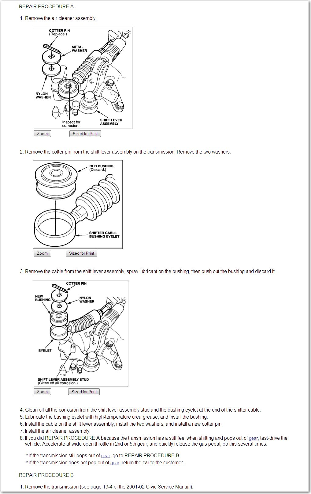 I'm thinking that since the movement of the shift lever is in an arc, D2  might be at a middle point of the selector in the trans and it will just  stick ...