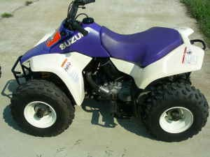 90cc kids atv that is hard to start i have to keep choke on and keep