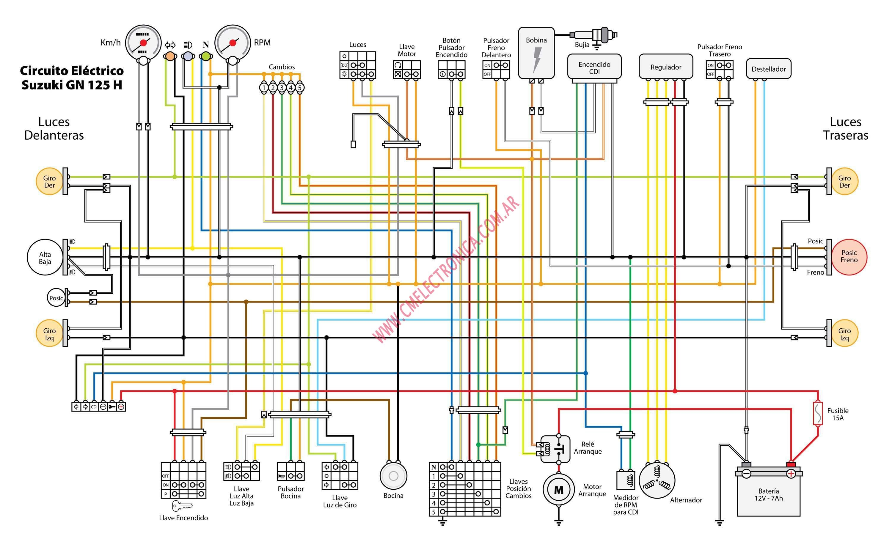 suzuki b200 wiring diagram suzuki lights wiring diagram #4