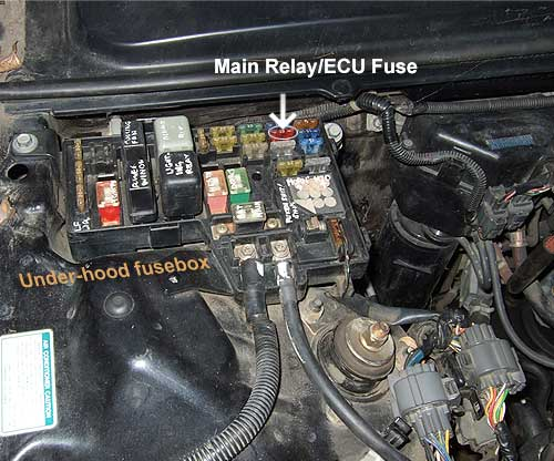 1993 Honda Accord Main Relay