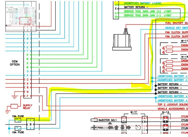 N Celect Ecm Wiring Diagram Unswitched Battery Connection on