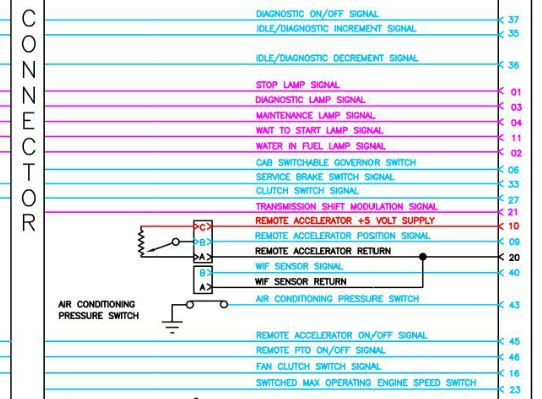 I am trying to replace connector on a 2001 isx cummins does anyone cummins l10 wiring diagram graphic