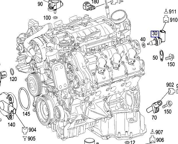 2006 mercedes c230 engine diagram