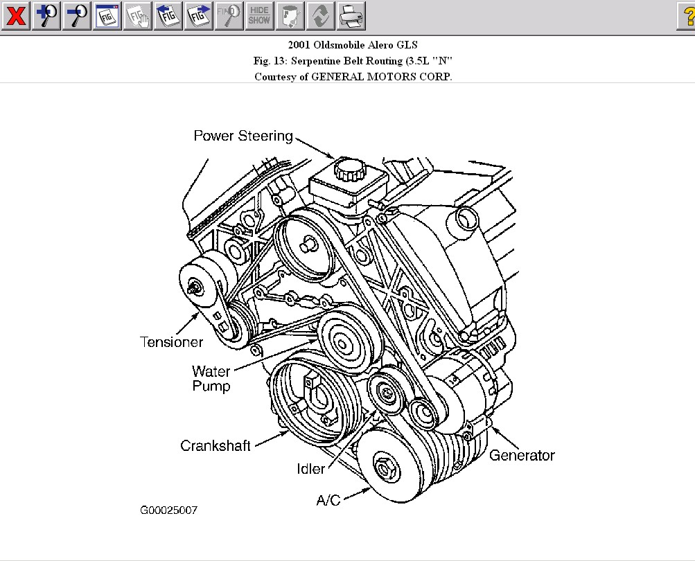 Alero 3 4 Liter Engine Block Diagram Free Wiring For You Vortec V6 Serpentine Belt 2003 3400 Portal Rh 9 15 5 Kaminari Music De