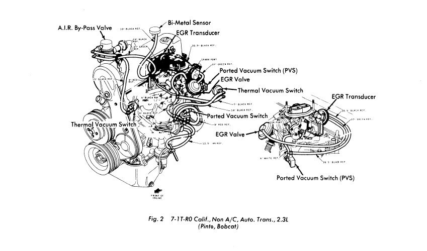 1980 ford pinto wiring diagram