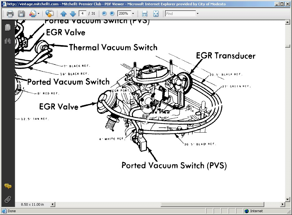 1977 ford pinto wiring diagram i need the vacuum hose schematics for a 1977 ford pinto ... 1980 ford pinto wiring diagram #13