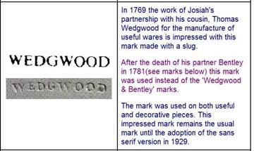 Impressed marks wedgwood How To