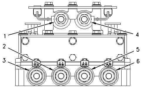 Hydraulic Grader Diagram