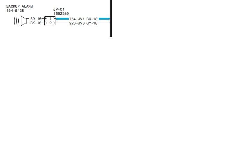 2014 komatsu backup alarm wiring diagram backup