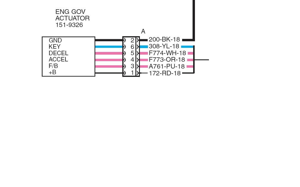 Wiring Diagram Caterpillar 315 Bl 3aw00654 Graphic