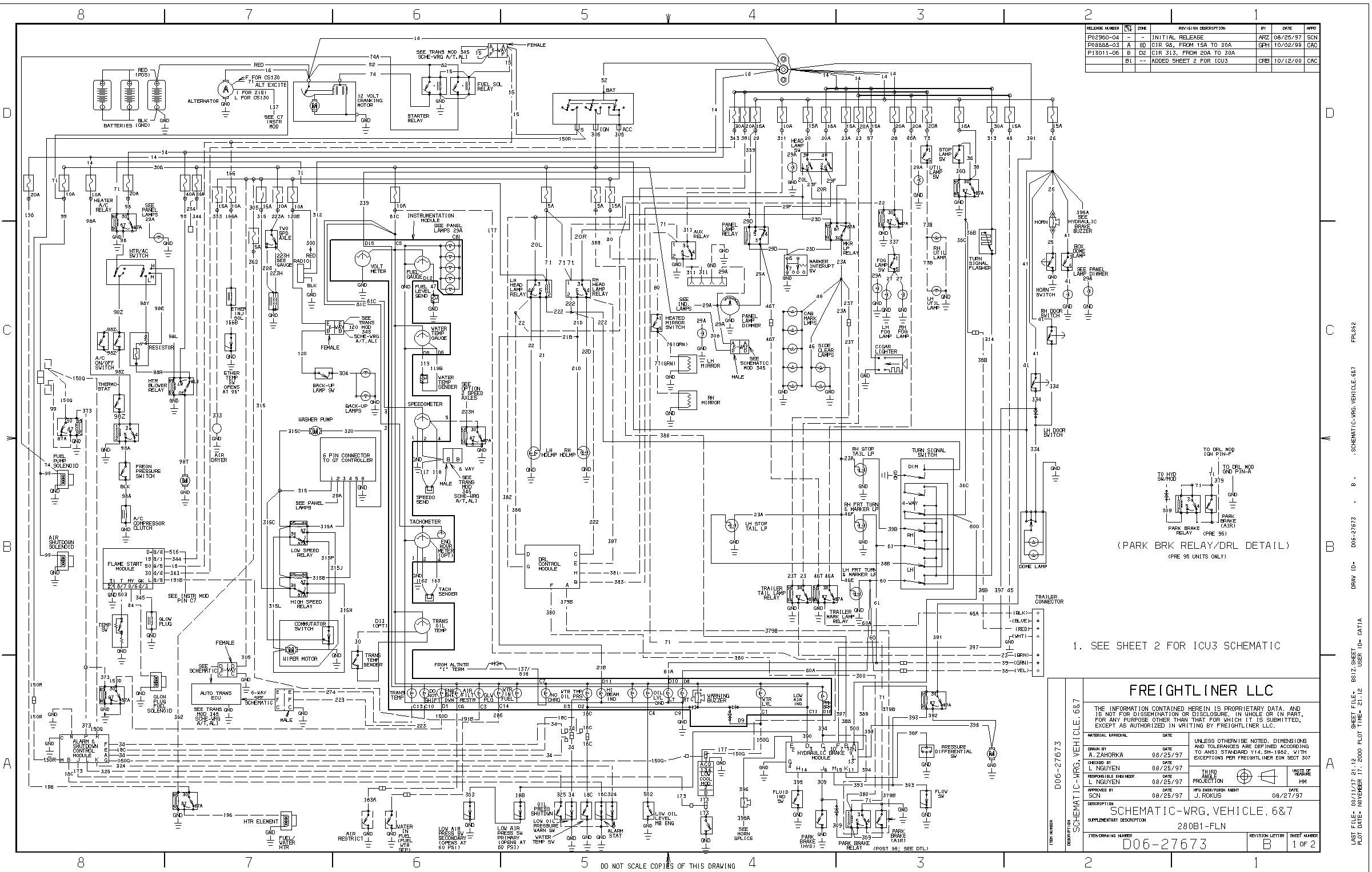 Fl70 Cab Diagram | Machine Repair Manual Haneline Gauges Wiring Diagram on