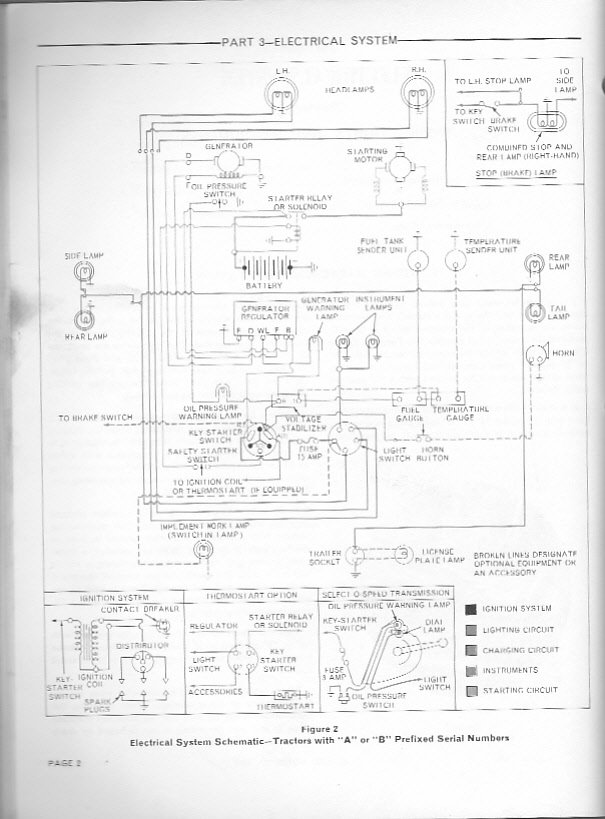 Wiring Diagram For A Ford 3000 Tractor - Wiring Diagram M2 on