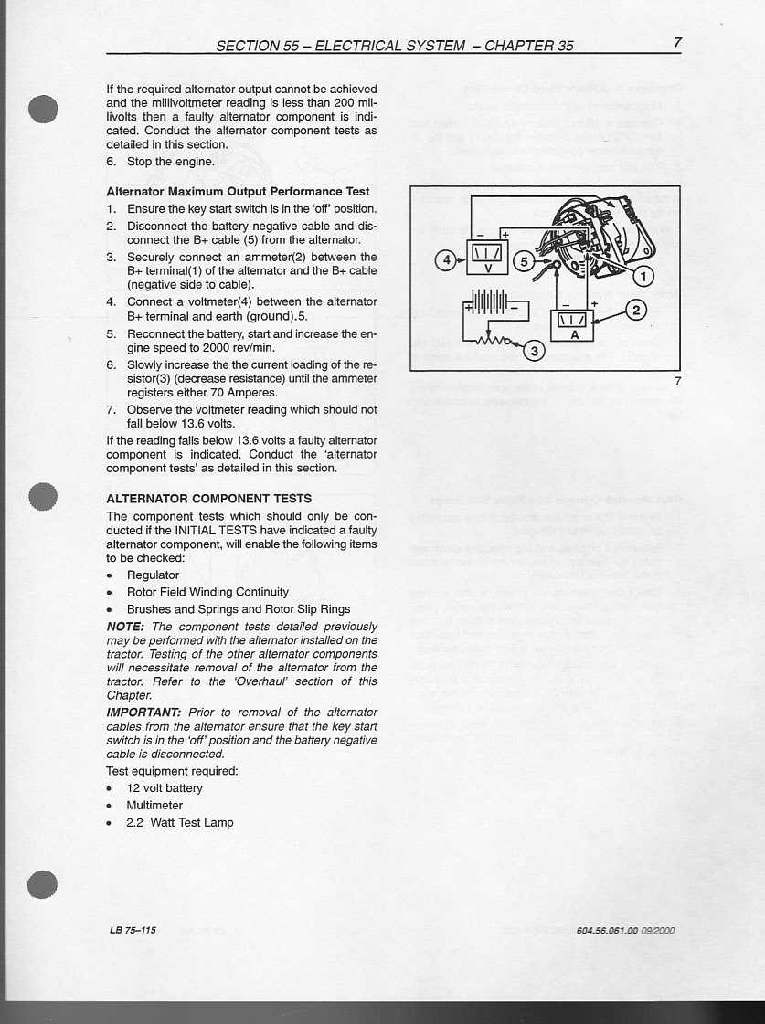 I Have A New Holland Lb 75b Backhoe Loader 2000 Model Need The Lb75b Wiring Diagram Graphic