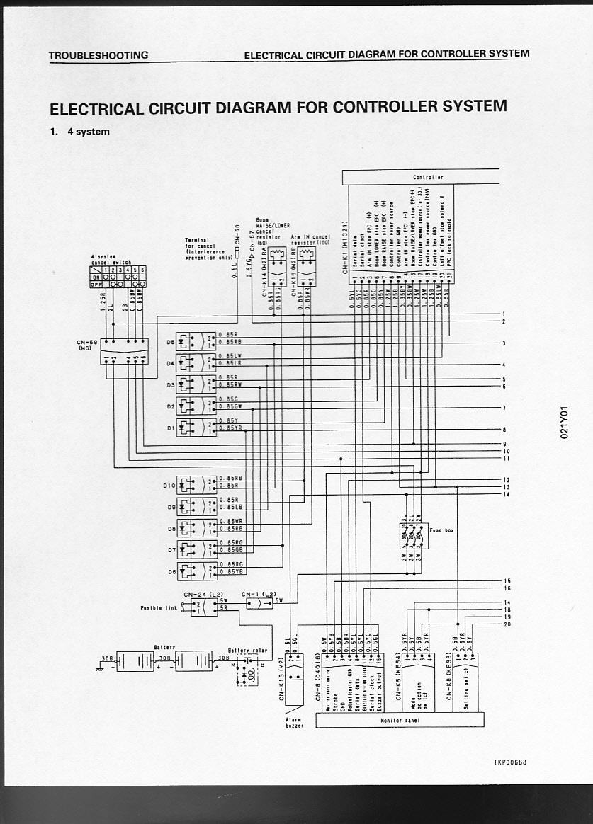 Komatsu Pc50uu 2 Wiring Diagram Schematic Diagrams Fg Forklift 30011 Pc75uu 1 Example Electrical U2022 Hyster