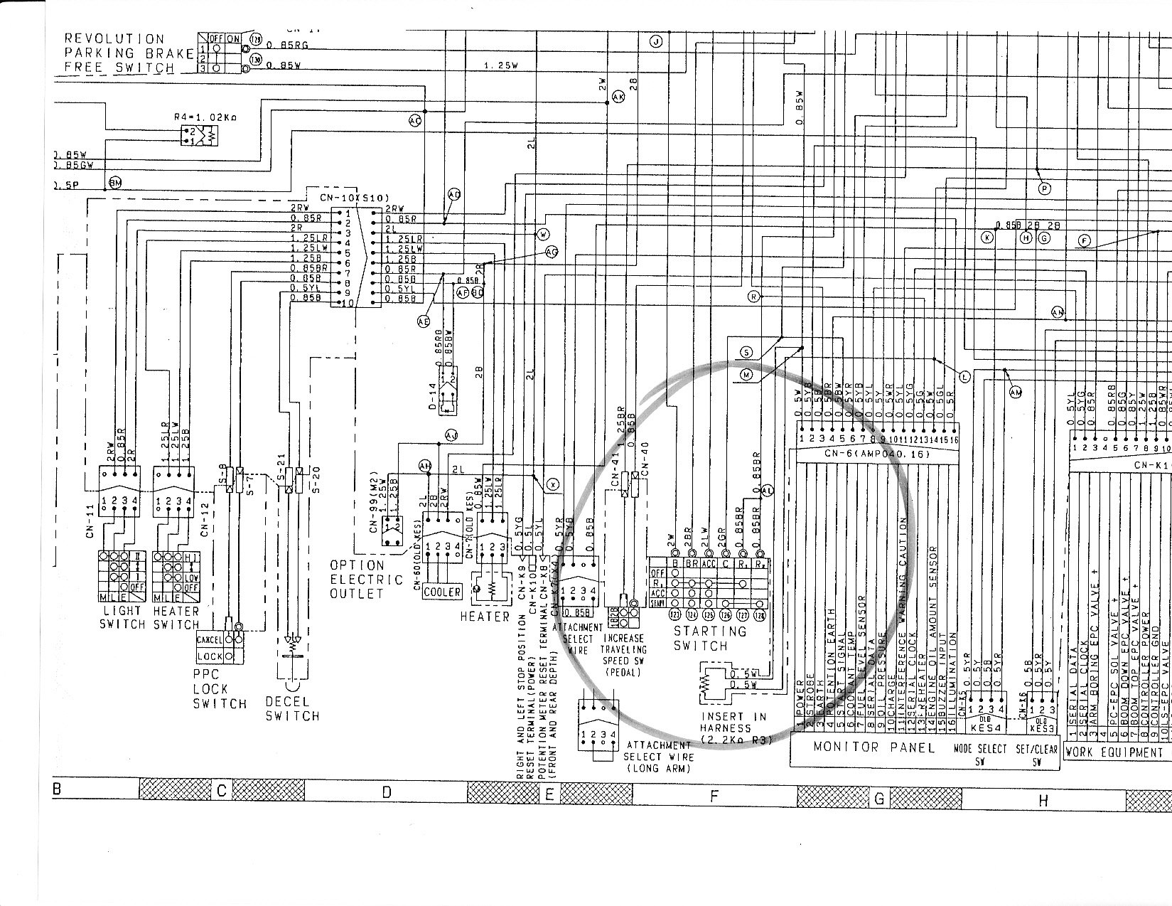 free construction equipment wiring schematics free wiring schematics i have a komatsu excavator pc128uu-1 i'm looking for the ...