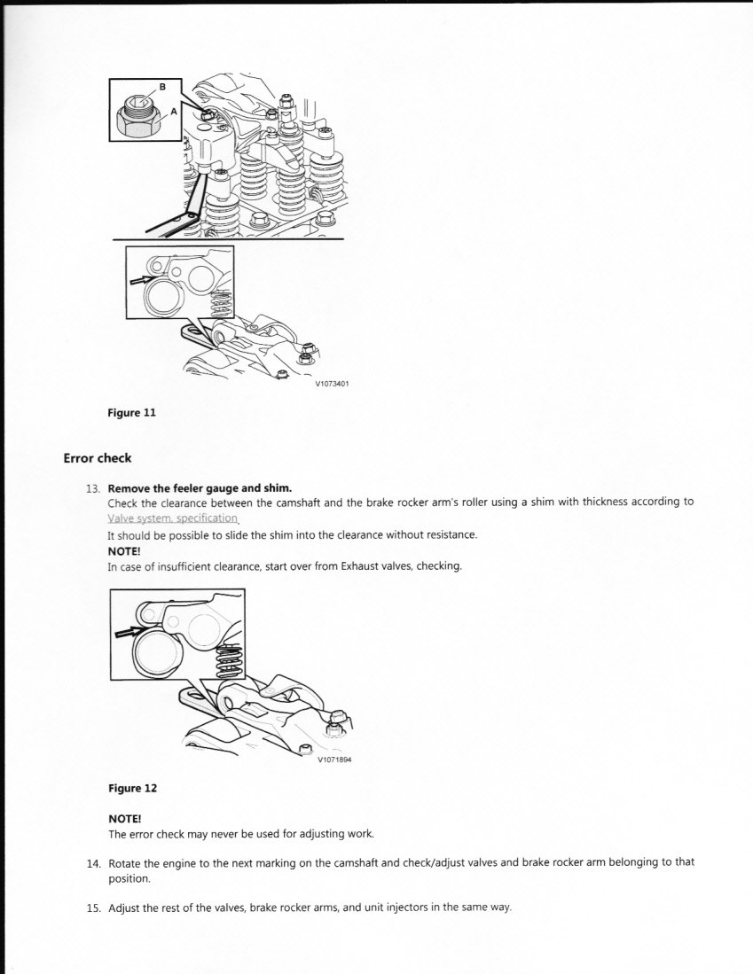 I Need To Remove And Reinstall Injector Cups On A Volvo D13 Engine 2012 Diagram Graphic