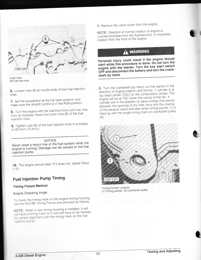 How To Replace Fuel Injector Pump On 416 Cat Backhoe Perkins Engine Cav Injection Diagram More Famous Lucas Graphic