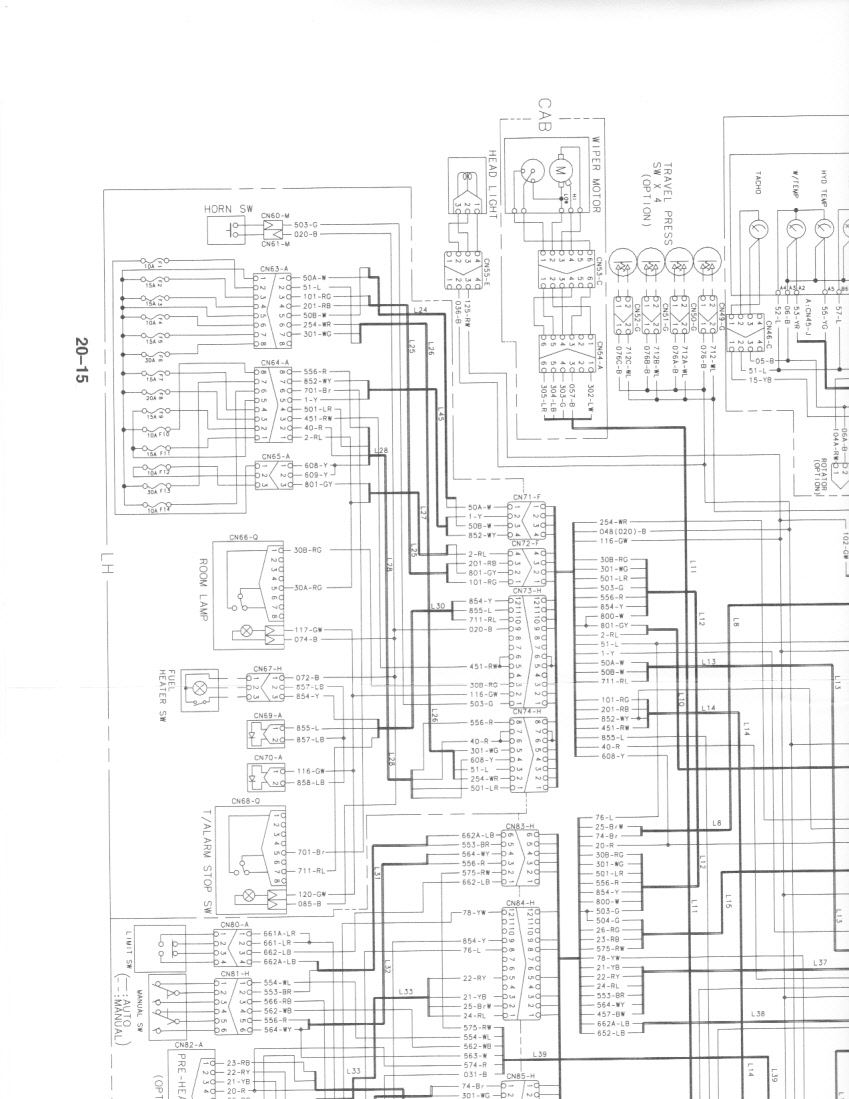 need a wiring schematic for a se280lc